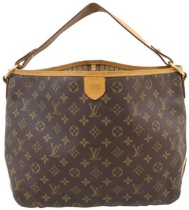 Louis Vuitton Lv Delightful Pm Monogram Canvas Hobo Bag