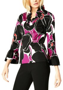 Trina Turk Mosaic Top Multi Color
