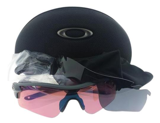 Oakley OO9181-04 Radarlock Oakley Matte Black Male Sunglasses