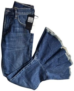 Citizens of Humanity Bell Bottoms 1970 70's Anthropologie Flare Leg Jeans-Medium Wash