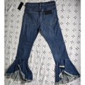 Citizens of Humanity Blue Medium Wash Anthropologie Drew Cropped Flare Leg Jeans Size 26 (2, XS) Citizens of Humanity Blue Medium Wash Anthropologie Drew Cropped Flare Leg Jeans Size 26 (2, XS) Image 3