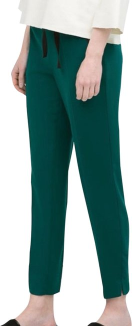 Item - Green Slim with Bow Tie Belt Pants Size 2 (XS, 26)