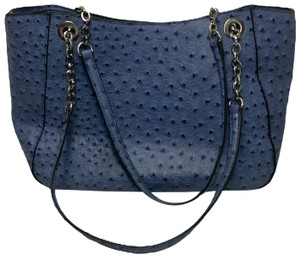 b.o.c #ostrich #chain #purse Tote in Blue