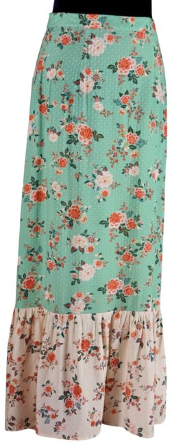 Anthropologie Green Farm Rio Marcia Floral Skirt Size 4 (S, 27) Anthropologie Green Farm Rio Marcia Floral Skirt Size 4 (S, 27) Image 1