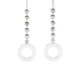 Gucci Sterling Silver Drop Earring