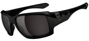 Oakley OO9173-01 Big Taco Oakley Polished Black Male Sunglasses