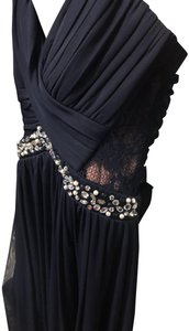 City Triangles Strapless Like New Lace Dress
