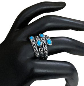 Carolyn Pollack Carolyn Pollack Relios Sterling Silver Sleeping Beauty Turquoise Bypas