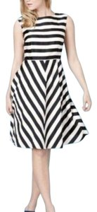Boden short dress Black White on Tradesy