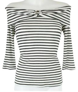 Trina Turk Top Black and White