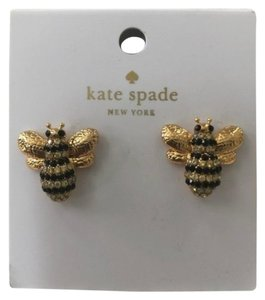 Kate Spade Kate Spade New York Picnic Perfect Pave Bee Stud Earrings