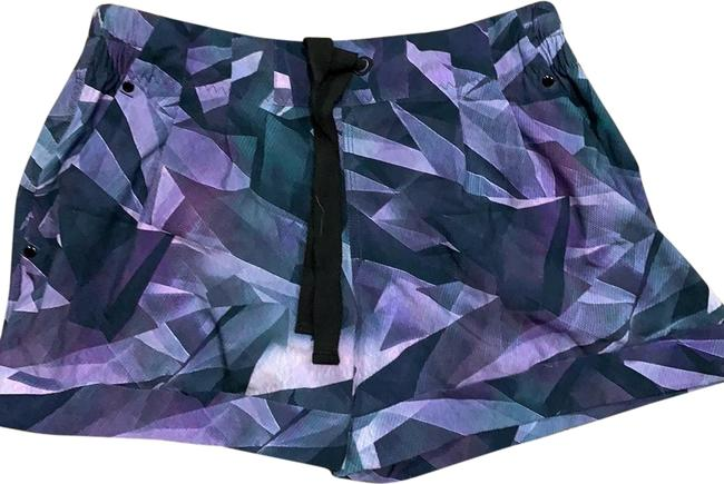 Item - Purple and Grey Mix Shorts Size 6 (S, 28)
