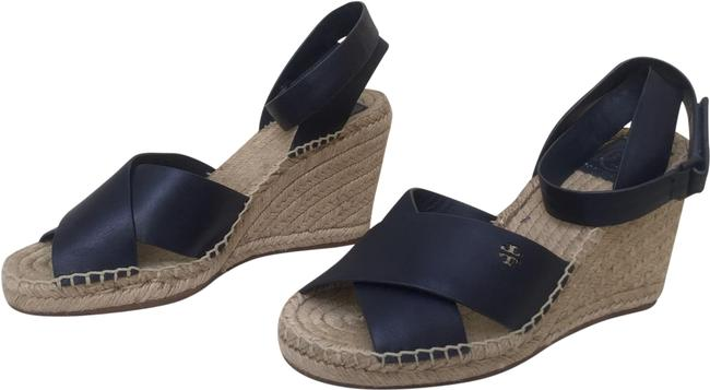 Item - Blue Bima Espadrille Wedges Size US 8 Regular (M, B)