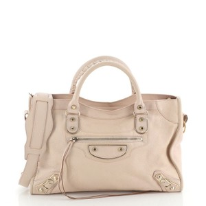 Balenciaga Leather Satchel in Pink