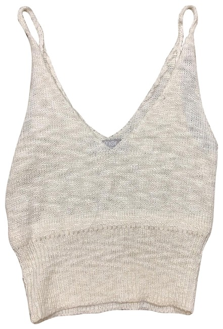 Item - Cream Tank Top/Cami Size 4 (S)