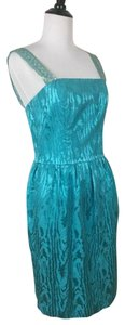Milly of New York Gold Sequins Straps Dress