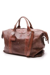 Henry Beguelin Brown Travel Bag