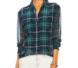 Equipment Button Down Shirt Plaid