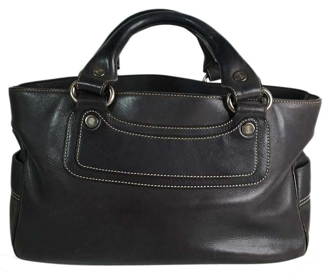 Item - Boogie Hand Brown Leather Tote