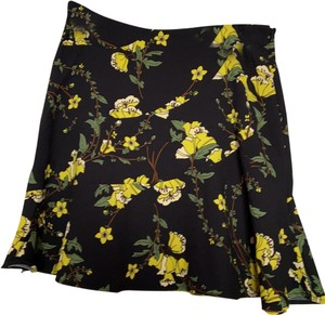 Who What Wear x Target Skirt Black Floral