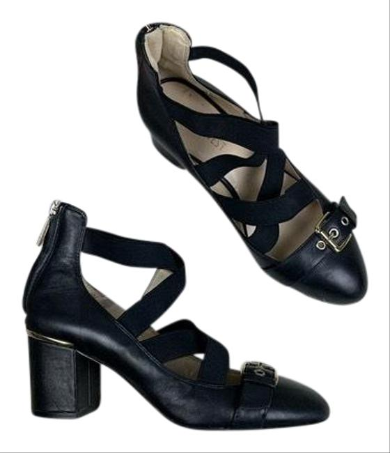 Item - Black Andres Leather Pointed Toe Pumps Formal Shoes Size US 6 Regular (M, B)