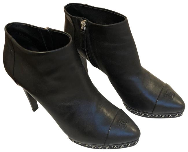 Item - With Chain Detail Boots/Booties Size US 9.5 Regular (M, B)
