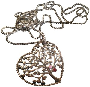 PANDORA AUTHENTIC Pandora Tree of Love Necklace, Sterling Silver with Gift Box