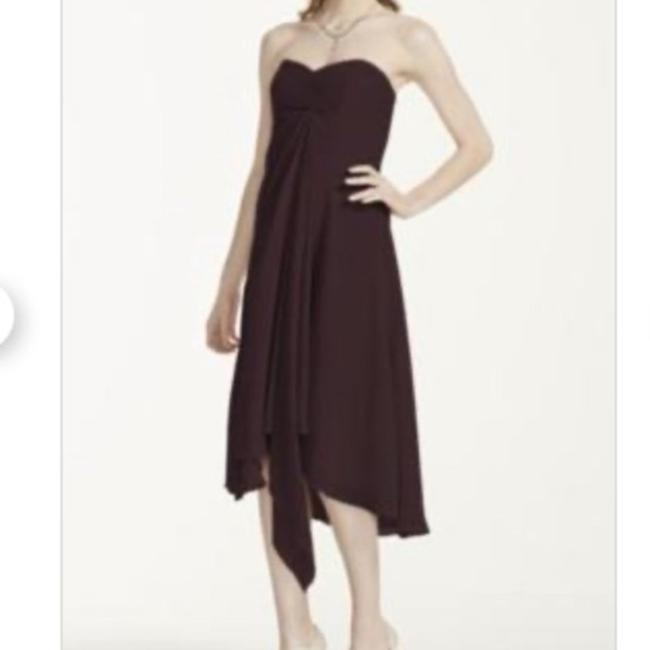 Item - Purple Polyester F12284 Formal Bridesmaid/Mob Dress Size 6 (S)