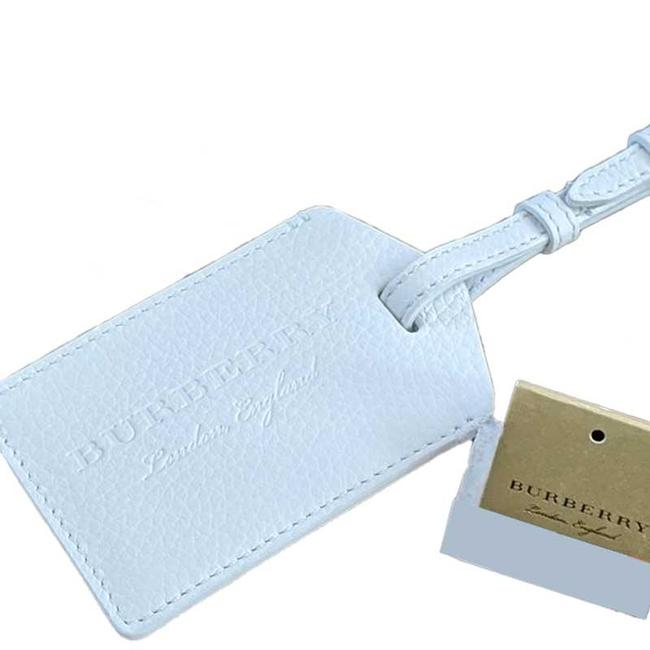 Item - Chalk White Lindale Leather Luggage Tag