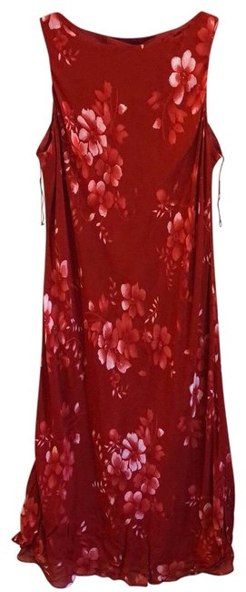 Item - Red & Pink Long Casual Maxi Dress Size 20 (Plus 1x)
