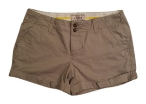 Old Navy Cuffed Shorts Tan/grey