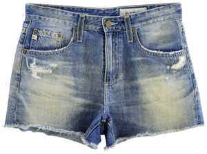 AG Adriano Goldschmied Denim Summer Jeans Casual Cut Off Shorts Blue