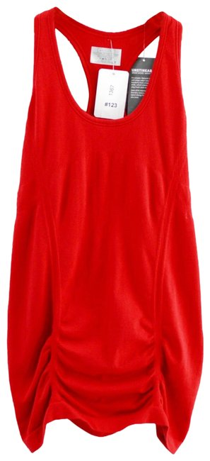Item - Red Fastest Track Tank #123-314 Activewear Top Size 4 (S)