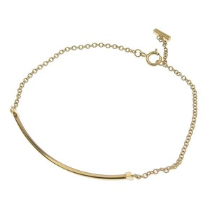 Tiffany Tiffany & Co. T Smile Breath Bracelet K18YG 2.5g