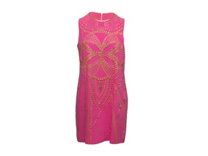 Versace for H&M short dress Hot Pink 100-200 Embellished Studded Versace-for-h-m on Tradesy