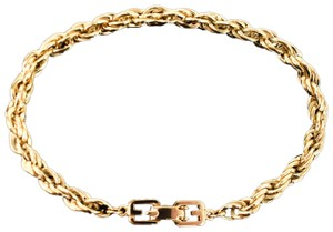 """Givenchy Metal Rope Chain """"G"""" Logo (mt)"""