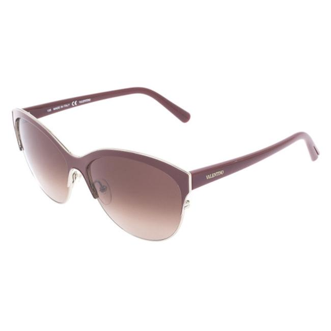 Item - Burgundy V104s Cat Eye Sunglasses