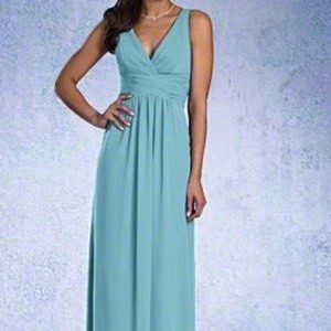 Alfred Angelo Pool (Blue) Formal Bridesmaid/Mob Dress Size 8 (M)