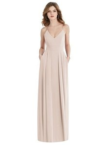 After Six Cameo (Light Pink) Sheer Crepe Formal Bridesmaid/Mob Dress Size 8 (M)