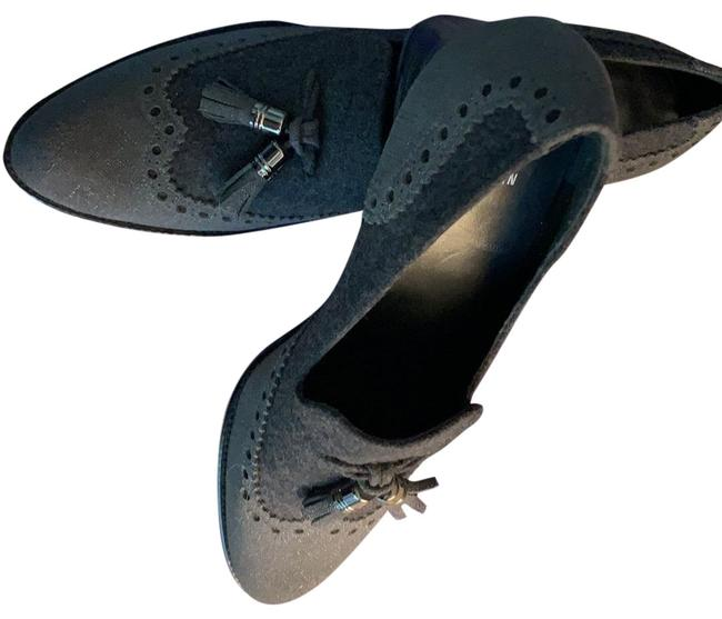 Item - Charcoal Grey Girl Thing Flats Size US 9 Regular (M, B)