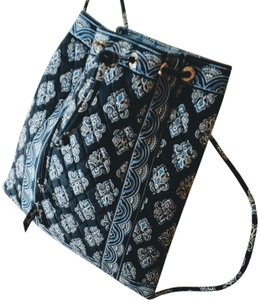 Vera Bradley Quilted Drawstring Backpack