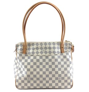 Louis Vuitton Lv Damier Zip Tote Figheri Shoulder Bag