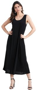 1pc-large black wrinkle free Maxi Dress by Jostar