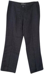 Tommy Bahama Linen Spring Summer Comfortable Casual Relaxed Pants Black
