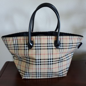 Burberry Blue Label Tote in Beige