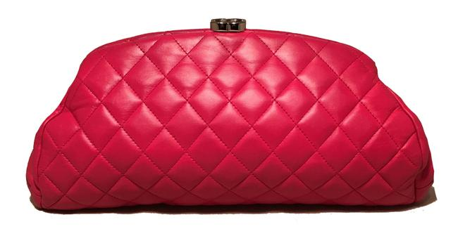 Item - Timeless Quilted Pink Leather Clutch