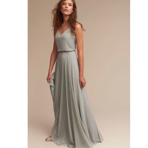 Jenny Yoo Morning Mist Bhldn Inesse Feminine Bridesmaid/Mob Dress Size 14 (L)