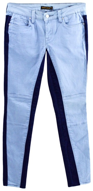 Item - Blue Light Wash 'the Hyde' #186-104 Skinny Jeans Size 26 (2, XS)
