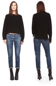 Paper Denim & Cloth Capri/Cropped Denim-Dark Rinse