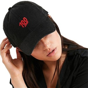 Urban Outfitters Urban Outfitters Emoji 100 Baseball Dad Hat Black